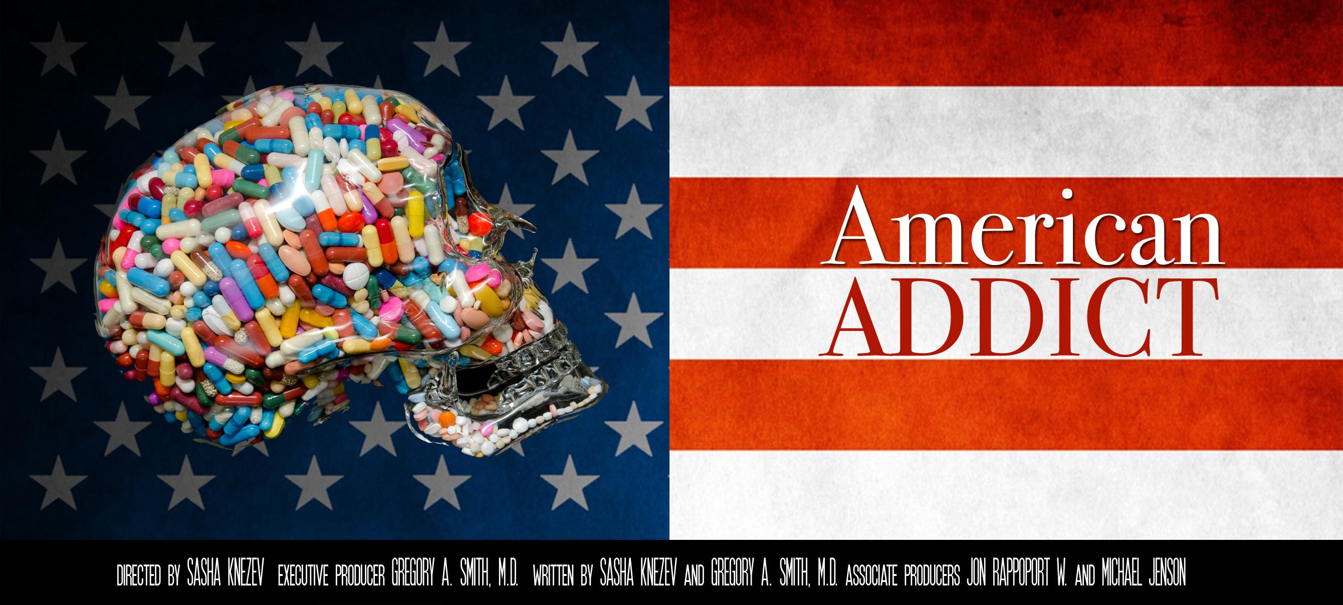 American Addict Flag